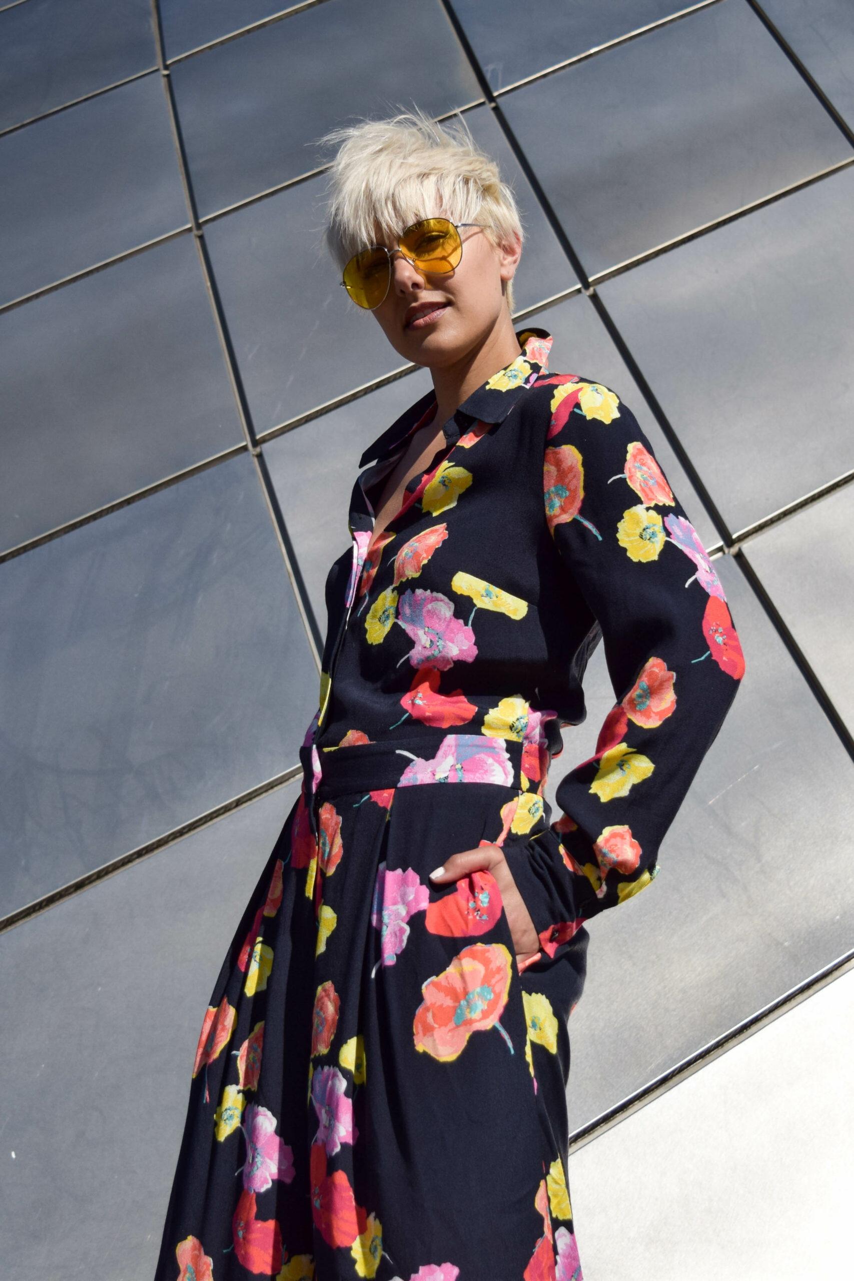 Floral Print Jumpsuit- Finery London- BloggerNotBillionaire.com