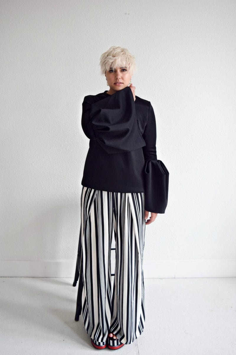 3 Ways to Wear Wide 90's Stripes Without Looking Like BeetleJuice - BloggerNotBillionaire.com