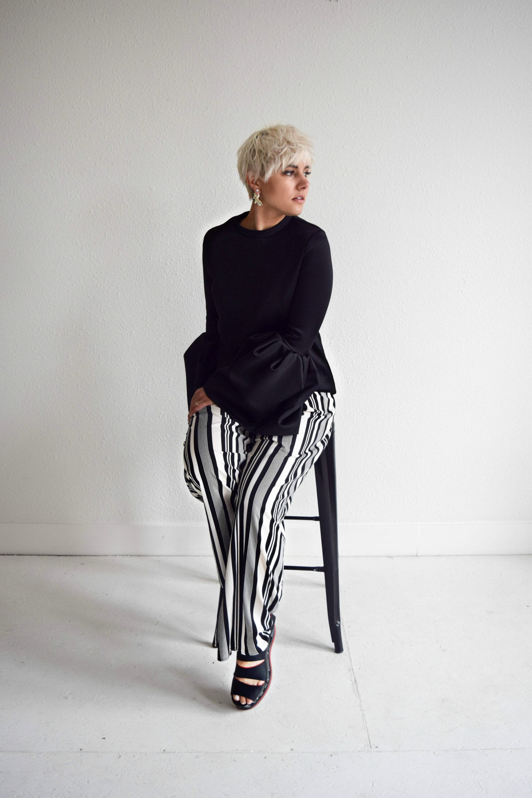3 Ways to Wear Wide 90's Stripes Without Looking Like BeetleJuice
