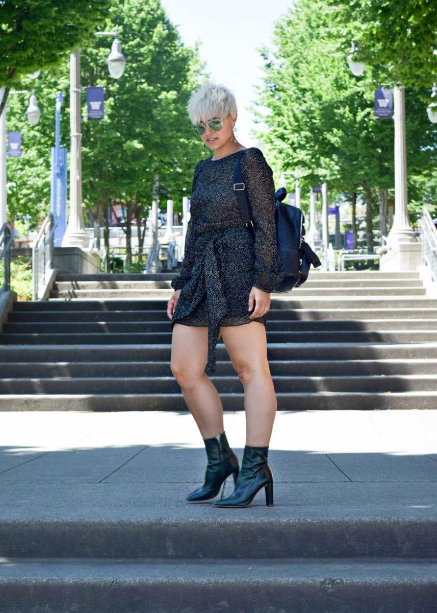 How to Wear Polka Dots from a Blogger who Generally Dislikes Them - BloggerNotBillionaire