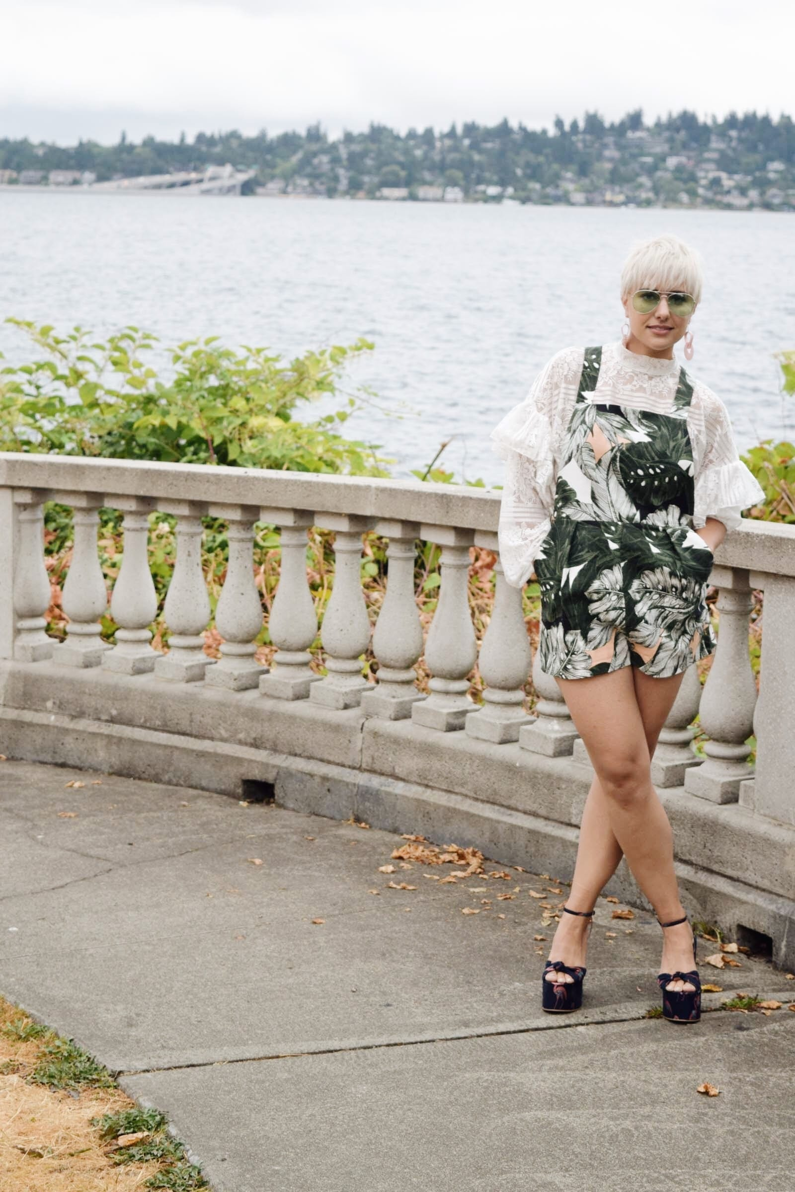 3 Ways to Transition Your Summer Clothing Into Fall - Topshop Playsuit - BloggerNotBillionaire