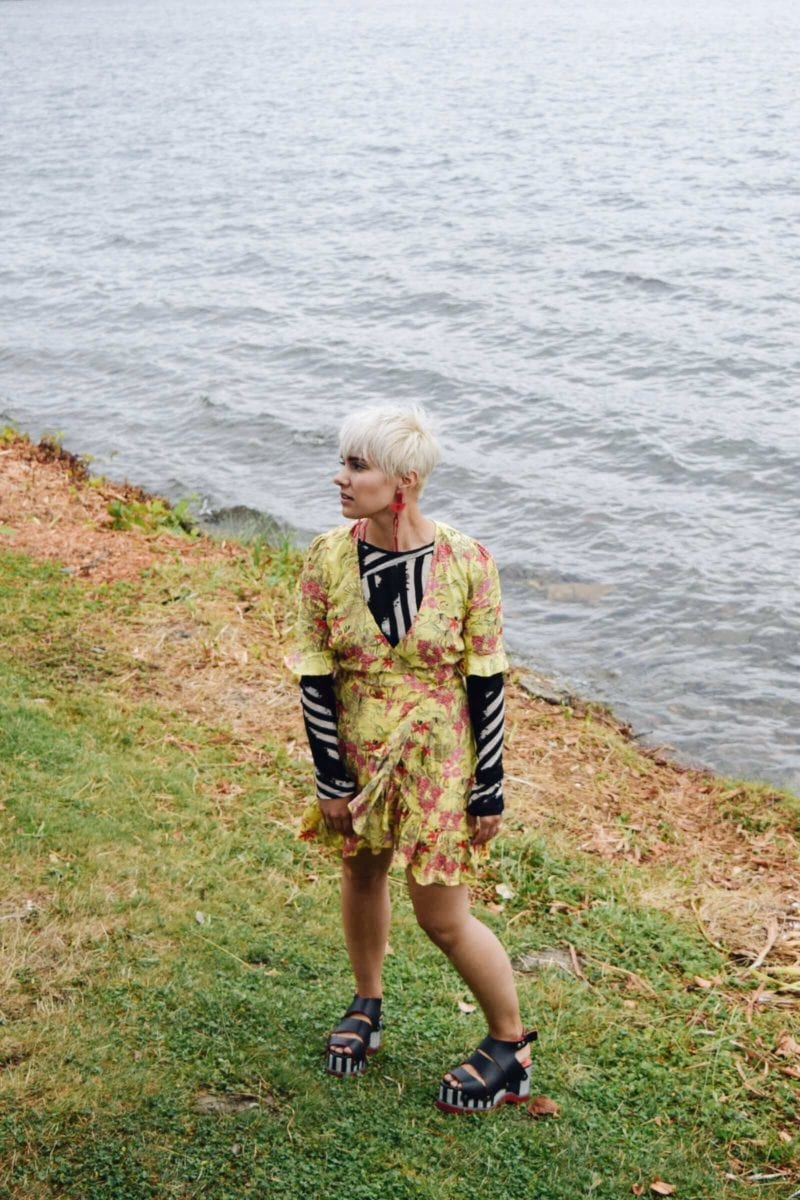 3 Ways to Transition Your Summer Clothing Into Fall - the Wrap Dress - BloggerNotBillionaire