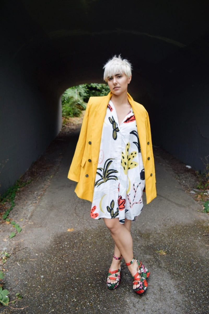 3 Ways to Transition Your Summer Clothing Into Fall - yellow blazer - BloggerNotBillionaire