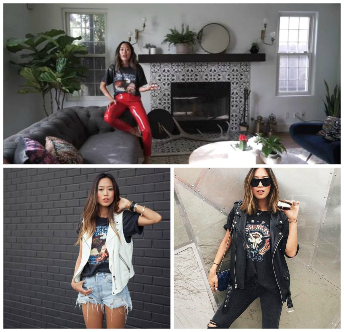 3 Style Tips From Aimee Song - Harley Davidson