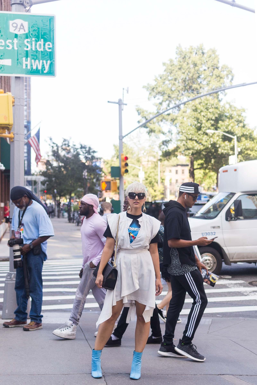 Best Street Style NYFW SS18