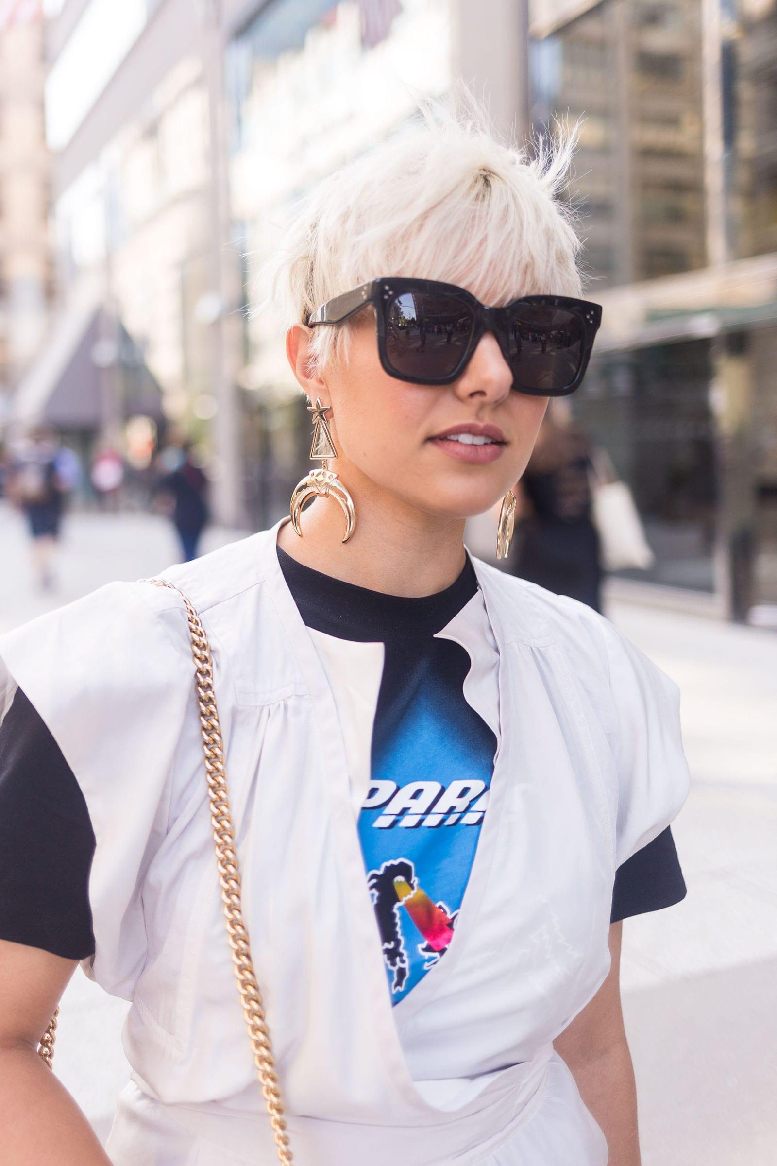 NYFW SS18 Street Style Celine Sunglasses