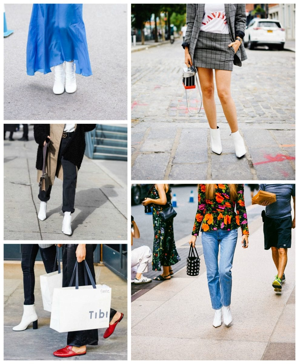 The Year of the White Ankle Boot: Our Favorite Affordable Options