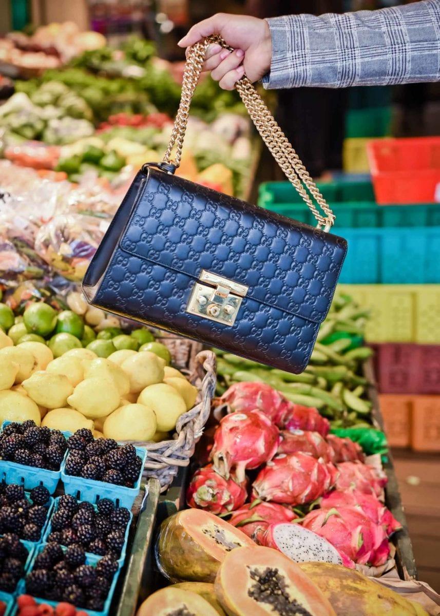 Gucci Padlock Bag & a Farmer's Market