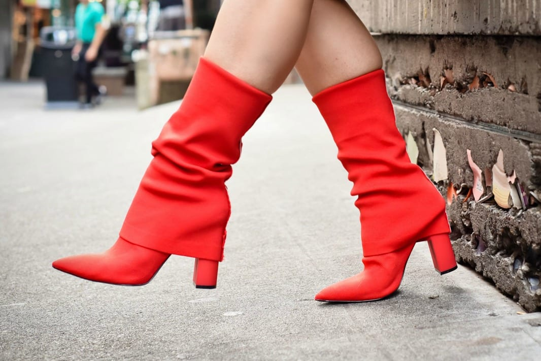 3 Items To Update Your Fall Wardrobe: #3 The Red Sock Boot