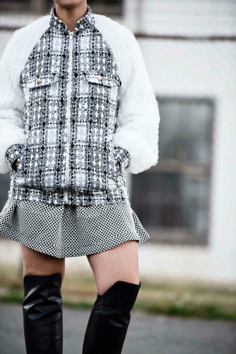 Chanel Inspired Tweed Jacket