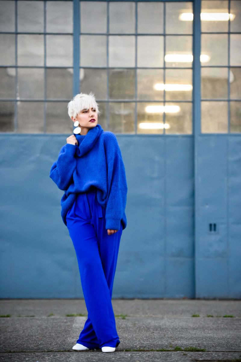The Unexpected Color of the Season: How to Style an All Blue Look