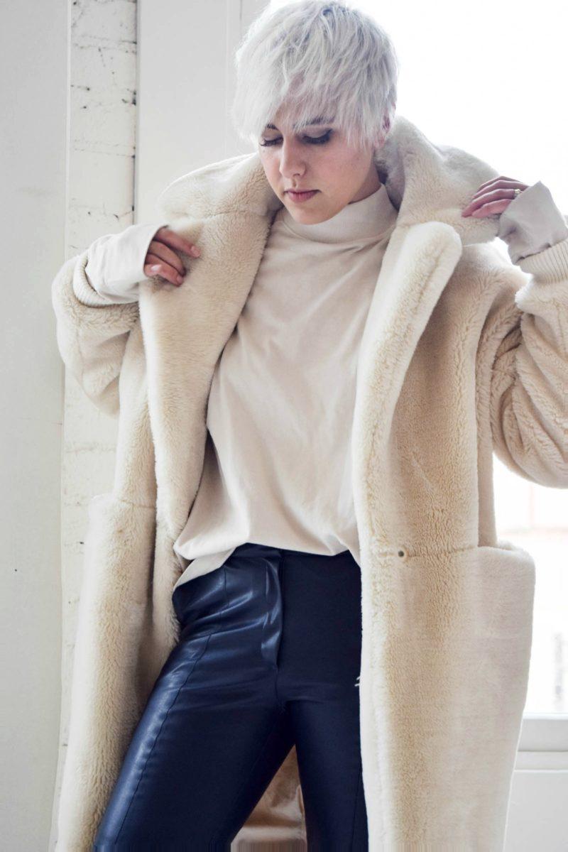Topshop Teddy Bear Coat