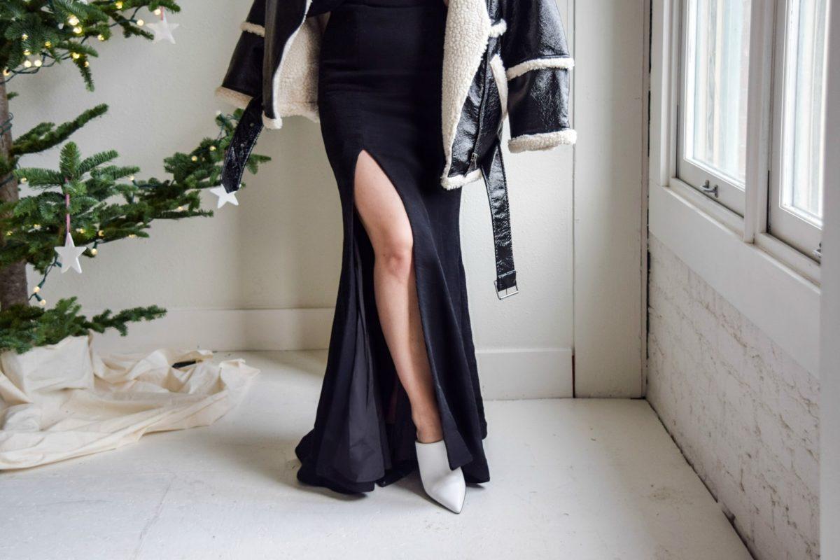 Zara two-toned heels