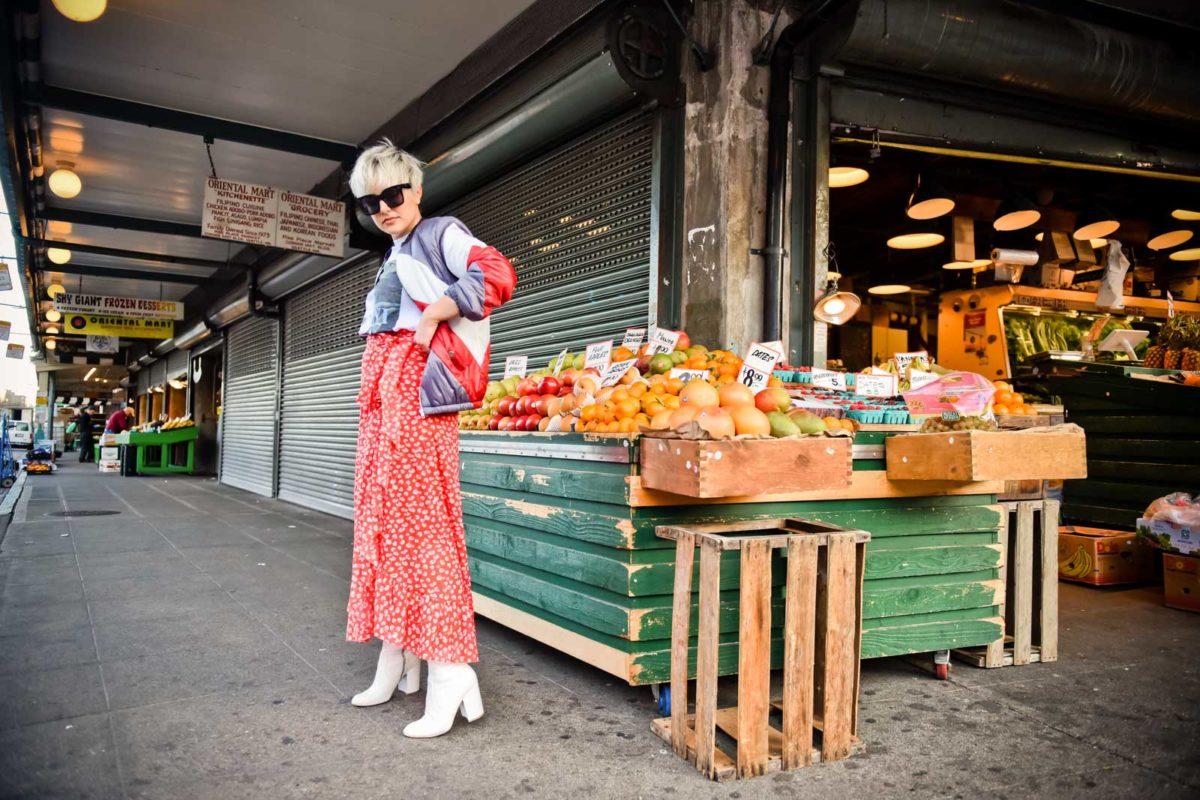 Ganni Tildon Wrap Skirt - BloggerNotBillionaire