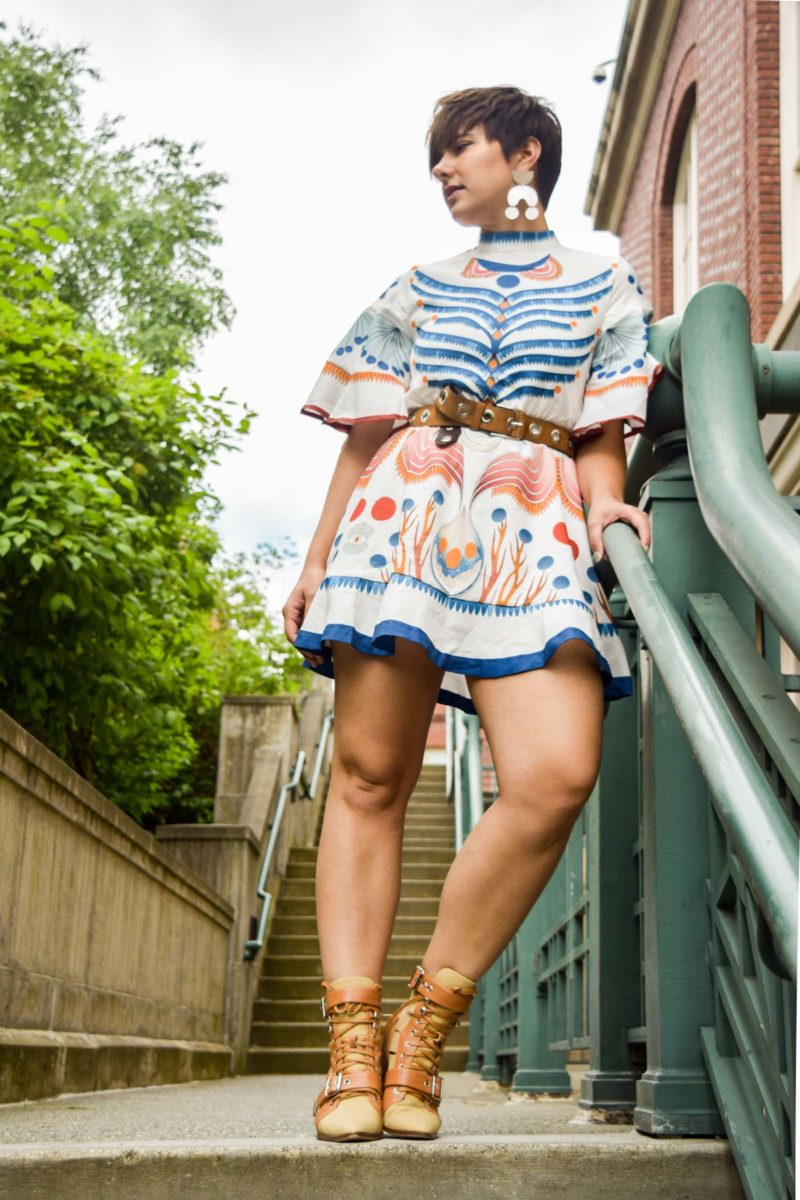 Chloe Rylee Canvas Boot Dupe- BloggerNotBillionaire