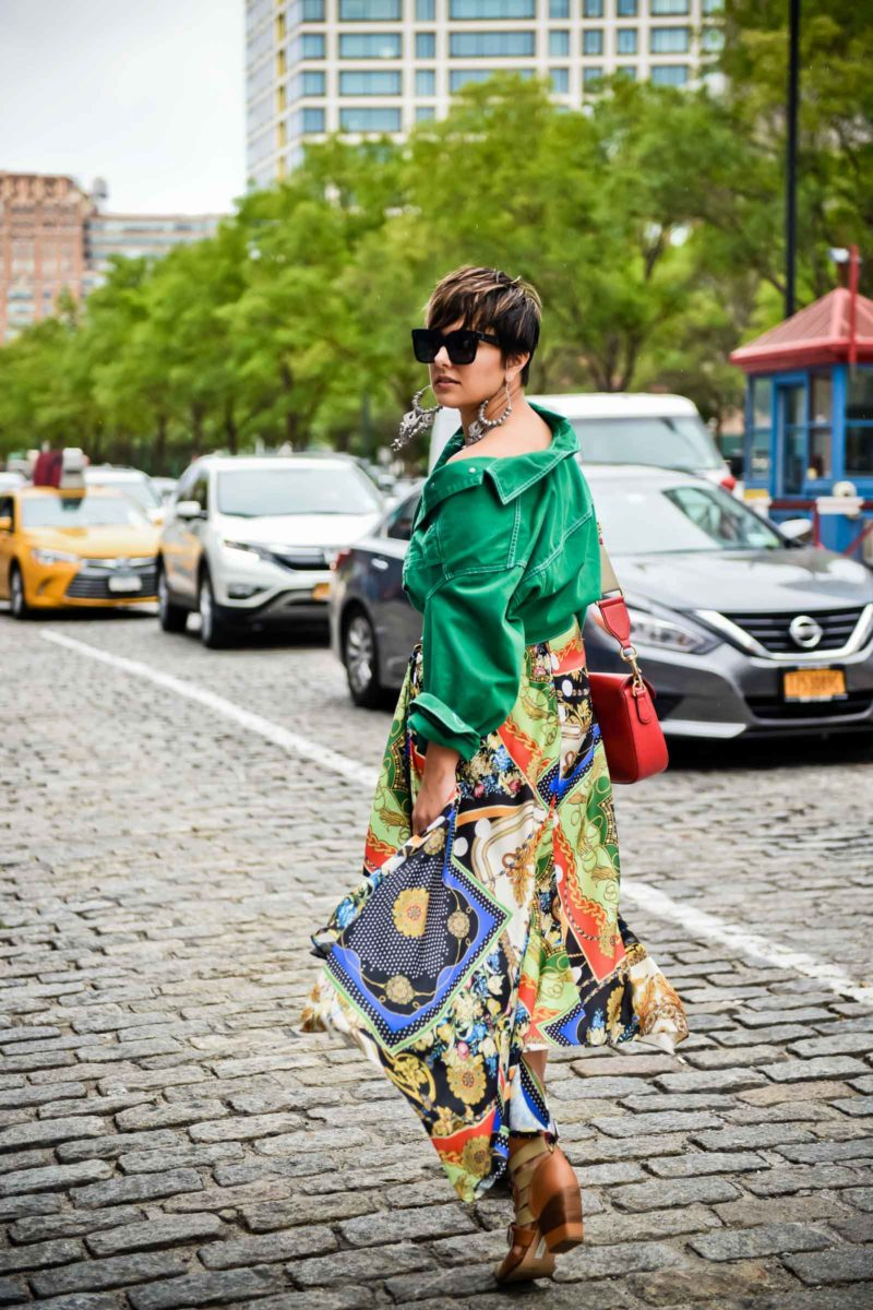 Fall Trends from NYFW: Chain Print