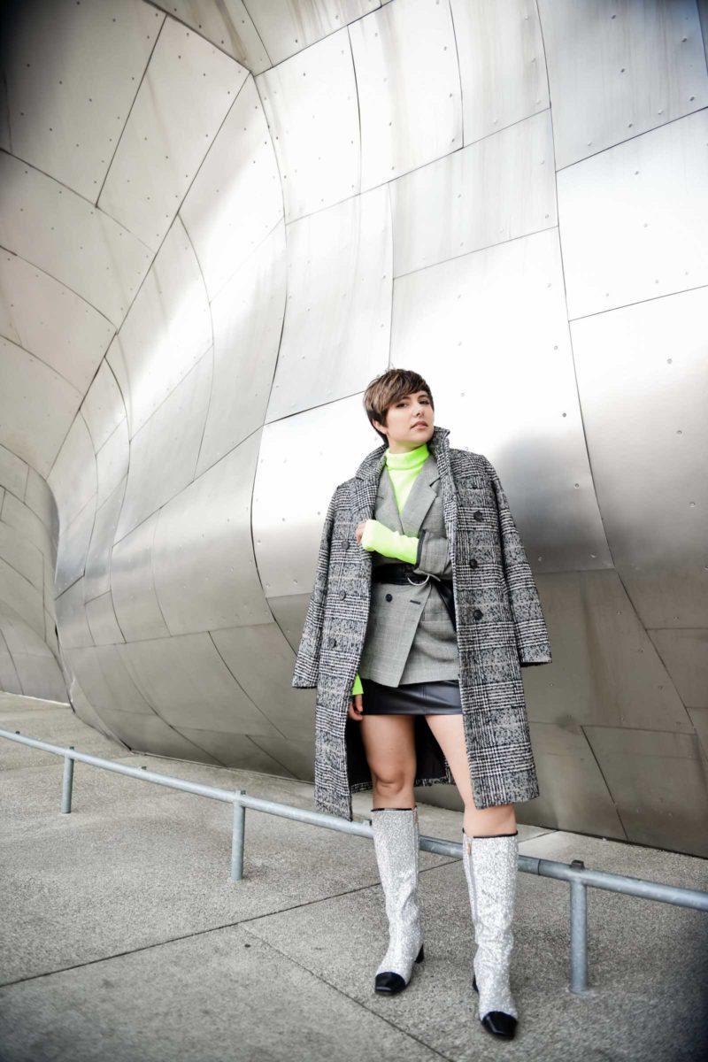 How to Wear Neon in Winter - BloggerNotBillionaire