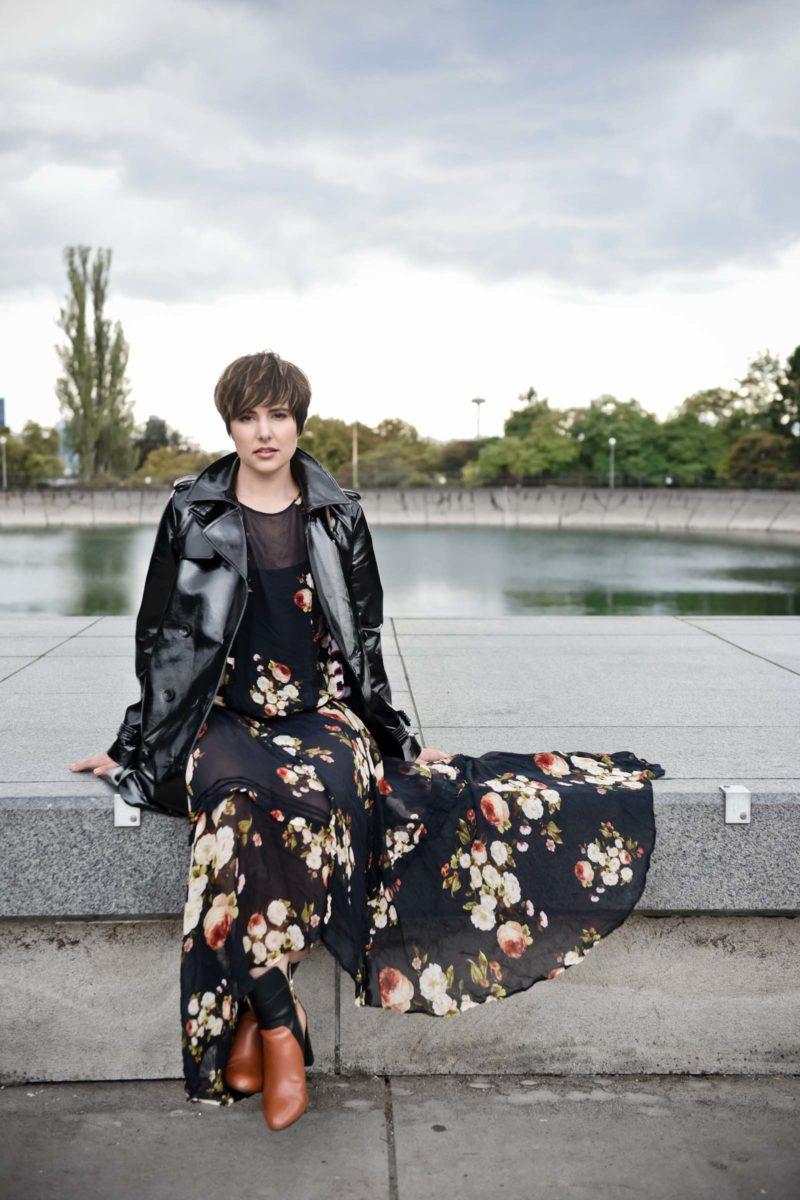 How to Wear a Maxi Dress in Winter - BloggerNotBillionaire.com