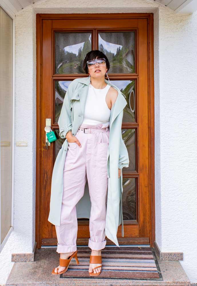 2 Ways to Wear a Tibi Mint Trench Dress