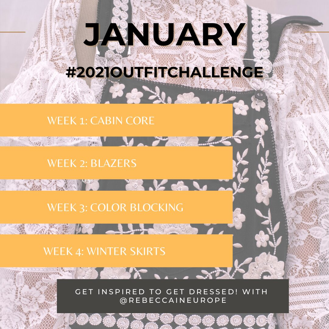2021 Outfit Challenge with @RebeccaInEurope