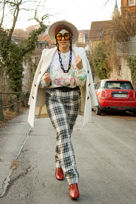 How to Style a Blazer: Gucci Edition